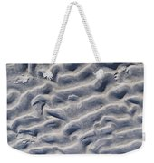 Ripples In The Sand And Surf Weekender Tote Bag