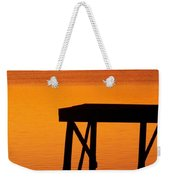 Ripples Of Copper Weekender Tote Bag