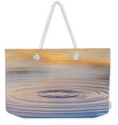 Ripples On A Still Pond Weekender Tote Bag