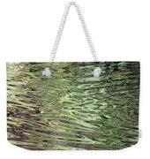 Ripples On Florida River Weekender Tote Bag