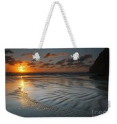 Ripples On The Beach Weekender Tote Bag