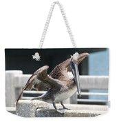 Pier Pelican Weekender Tote Bag