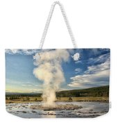 Rising Steam Weekender Tote Bag