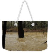 Rising Waters With Timber Weekender Tote Bag
