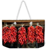 Ristras 1 Hatch New Mexico Weekender Tote Bag