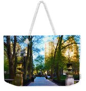 Rittenhouse Square Park Weekender Tote Bag