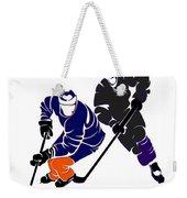 Rivalries Oilers And Kings Weekender Tote Bag