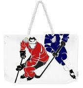 Rivalries Senators And Maple Leafs Weekender Tote Bag