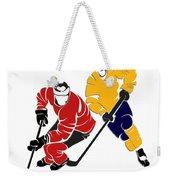 Rivalries Senators And Sabres Weekender Tote Bag