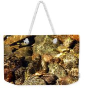 River Abstract Weekender Tote Bag