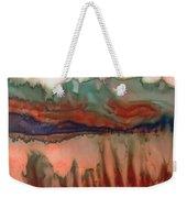 River Aflame Weekender Tote Bag