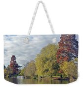 River Avon In Autumn Weekender Tote Bag