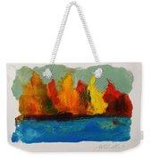 River Bank In Color Weekender Tote Bag