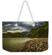 River Below The Clouds Weekender Tote Bag