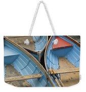River Boats Weekender Tote Bag