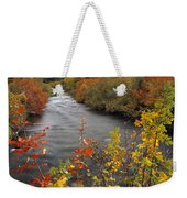 River Color Weekender Tote Bag
