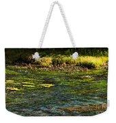 River Colors Weekender Tote Bag
