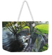 River Dee At Rhug Weekender Tote Bag