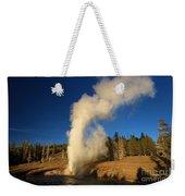 River Eruption Weekender Tote Bag
