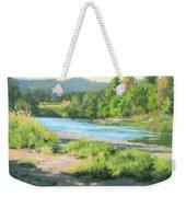 River Forks Morning Weekender Tote Bag