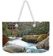 River House In Spring Weekender Tote Bag