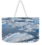 River Ice Weekender Tote Bag