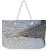 River Ice Star Weekender Tote Bag