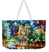 River In Paris Weekender Tote Bag