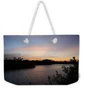 River In The Eveninglight - Sanibel Island Weekender Tote Bag