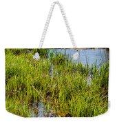 River Kennet Marshes Weekender Tote Bag