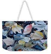 River Leaves Weekender Tote Bag