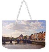 River Liffey 2 - Dublin Weekender Tote Bag