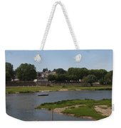 River Loire Fishing Boat Weekender Tote Bag