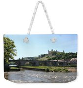 River Main With Fortress - Wuerzburg Weekender Tote Bag