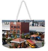 River Market In Little Rock Arizona Weekender Tote Bag