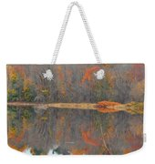 River Mirror Autumn Weekender Tote Bag