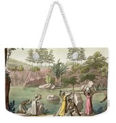 River Near San Benedetto, Madagascar Weekender Tote Bag