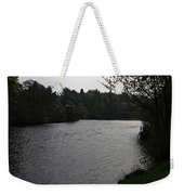 River Ness Near The Ness Islands In Inverness In Scotland Weekender Tote Bag