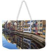 River Onyar Girona Spain Weekender Tote Bag