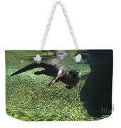 River Otter-7714 Weekender Tote Bag