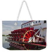 River Paddle Steamer Weekender Tote Bag
