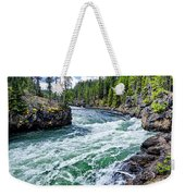 River Power Weekender Tote Bag