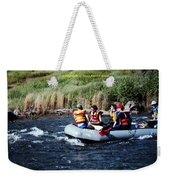 River Rafting Weekender Tote Bag