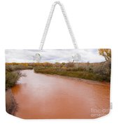 River Red New Mexico Weekender Tote Bag