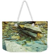 River Rock Path Weekender Tote Bag