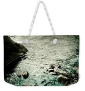 River Rocked Weekender Tote Bag by Susan Maxwell Schmidt