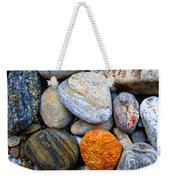 River Rocks 1 Weekender Tote Bag