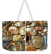 River Rocks 15 In Stereo Weekender Tote Bag