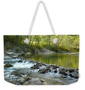 River Rocks Weekender Tote Bag