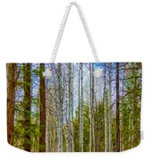 River Run Trail At Arrowleaf Weekender Tote Bag